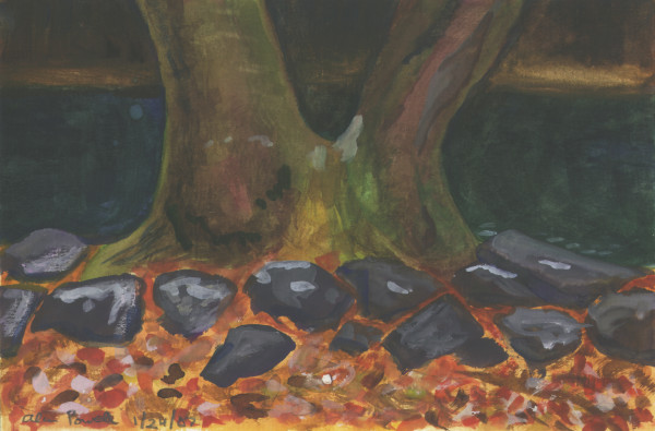 January 24, 2007  Tree by Tohickon Creek by Alan Powell