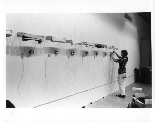Dennis stereo viewer piece, Everson Museum of Art , 1975 by Alan Powell