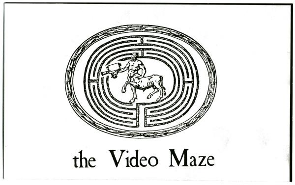 The Video Maze Logo by Alan Powell