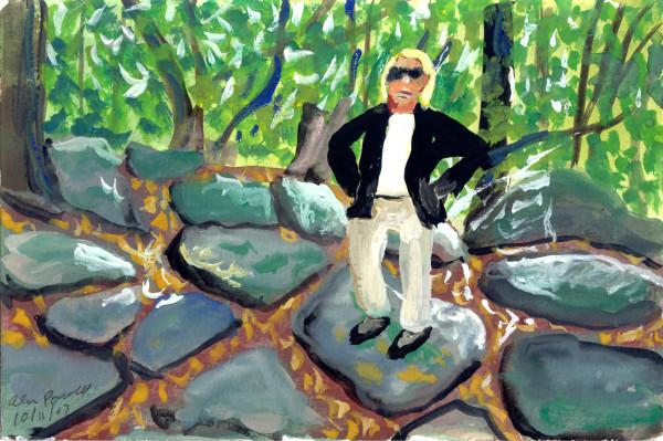 October 11, 2007; Walking on Rocks by Alan Powell
