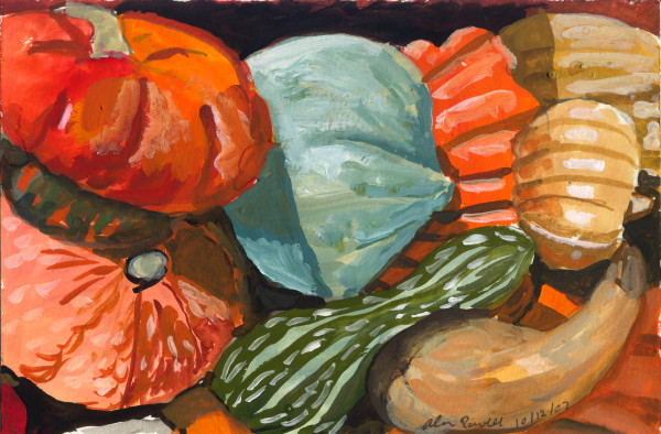 October 12, 2007; Pumpkins and Gourds  by Alan Powell