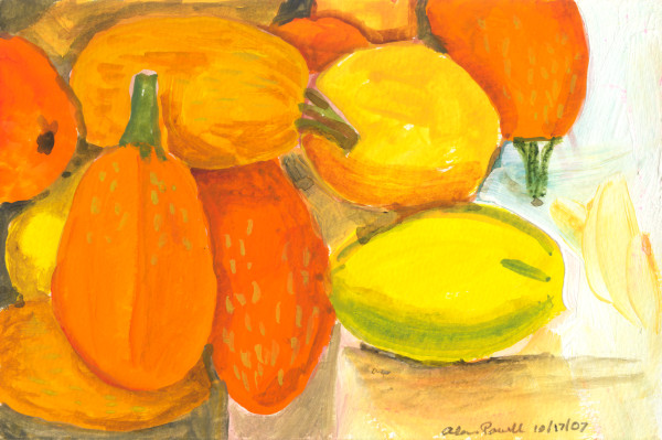 October 17, 2007; Pumpkins by Alan Powell