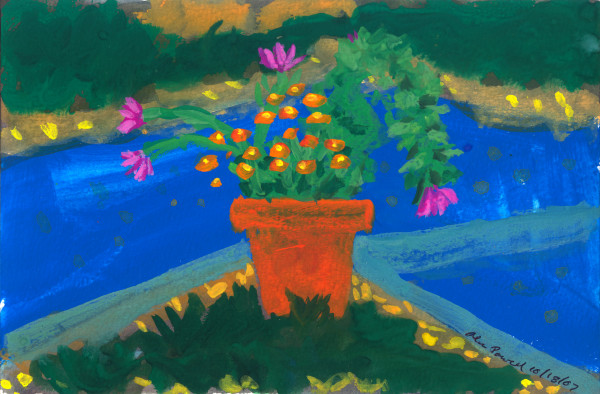 October 18, 2007; Potted Plants by Alan Powell