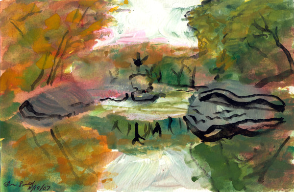 October 19, 2007; Fall Day  by Alan Powell
