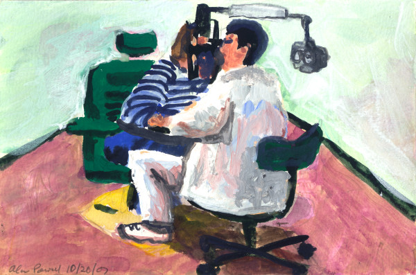 October 20, 2007; Eye Doctor by Alan Powell