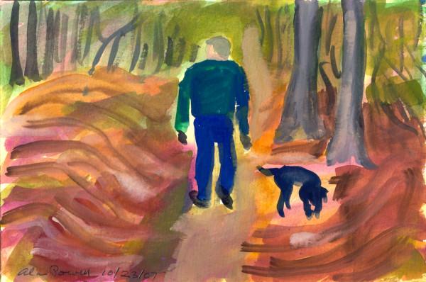 October 23, 2007; Alan Walking BJ by Alan Powell
