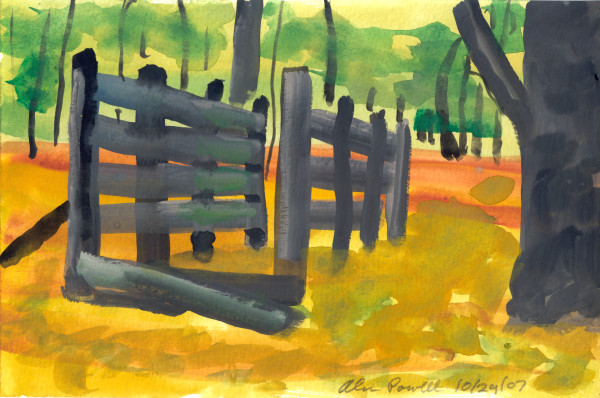 October 24, 2007; Fences  by Alan Powell