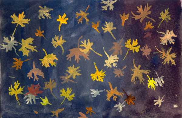 October 26, 2007; Falling Leaves by Alan Powell