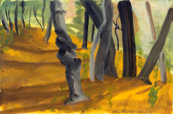 October 2, 2007; Trees  by Alan Powell