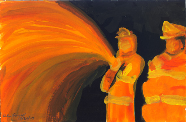 October 30, 2007; Firefighters  by Alan Powell
