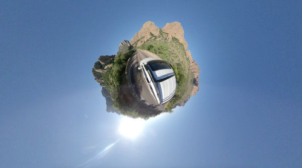 Big Bend, Tiny Planet by Alan Powell