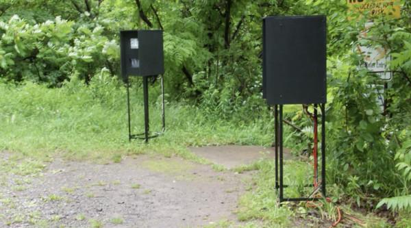 Artpark, Lewiston Ny, Video Installations by Alan Powell by Alan Powell