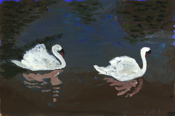 September 10, 2007; Swans by Alan Powell