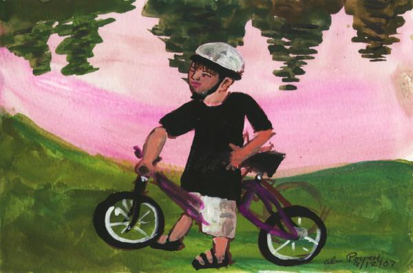 September 12, 2007; Bike Ride by Alan Powell