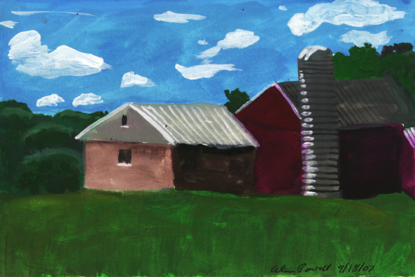 September 18, 2007; Farm by Alan Powell