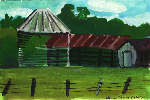 September 19, 2007;  Silo  by Alan Powell