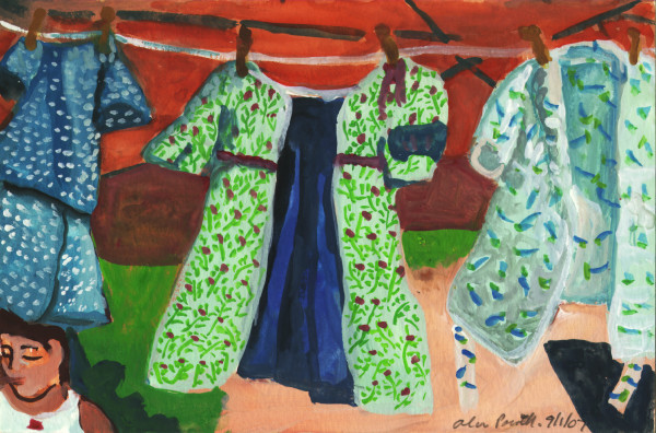 September 1, 2007; Clothesline  by Alan Powell