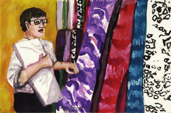 September 2, 2007; Picking Fabrics by Alan Powell