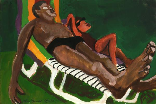 September 4, 2007; Sunbathing by Alan Powell