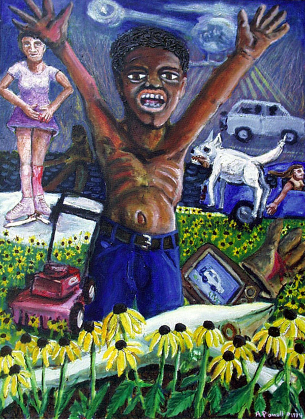 Angry Black Man by Alan Powell