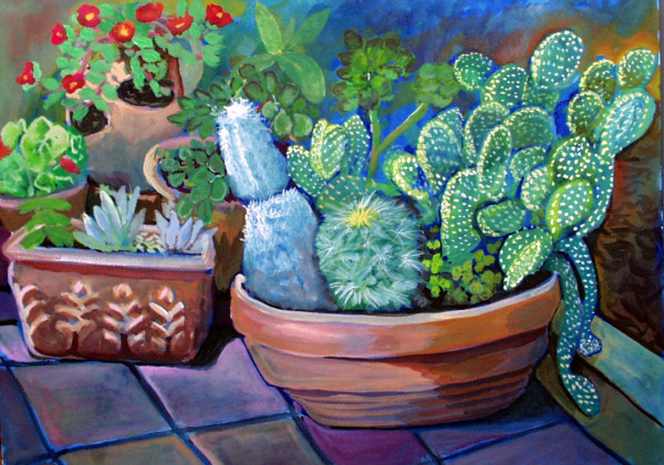 Cactus by Alan Powell