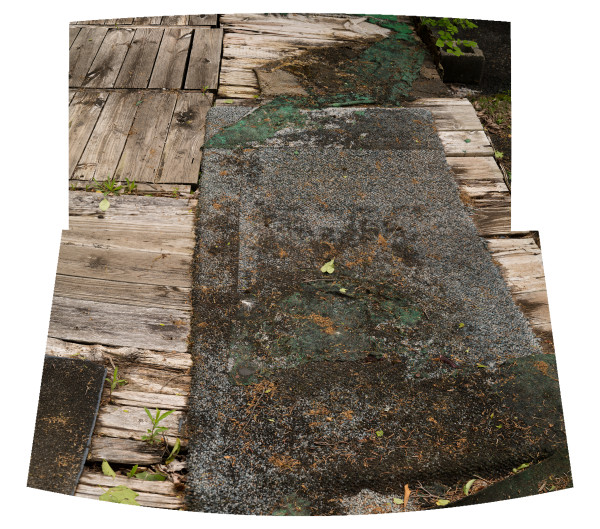Rotted Deck by Alan Powell