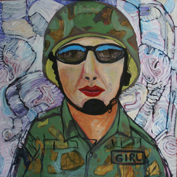 Girl Soldier by Alan Powell