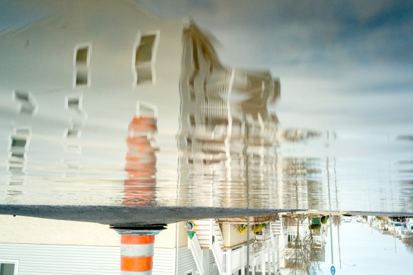 City Underwater by Alan Powell