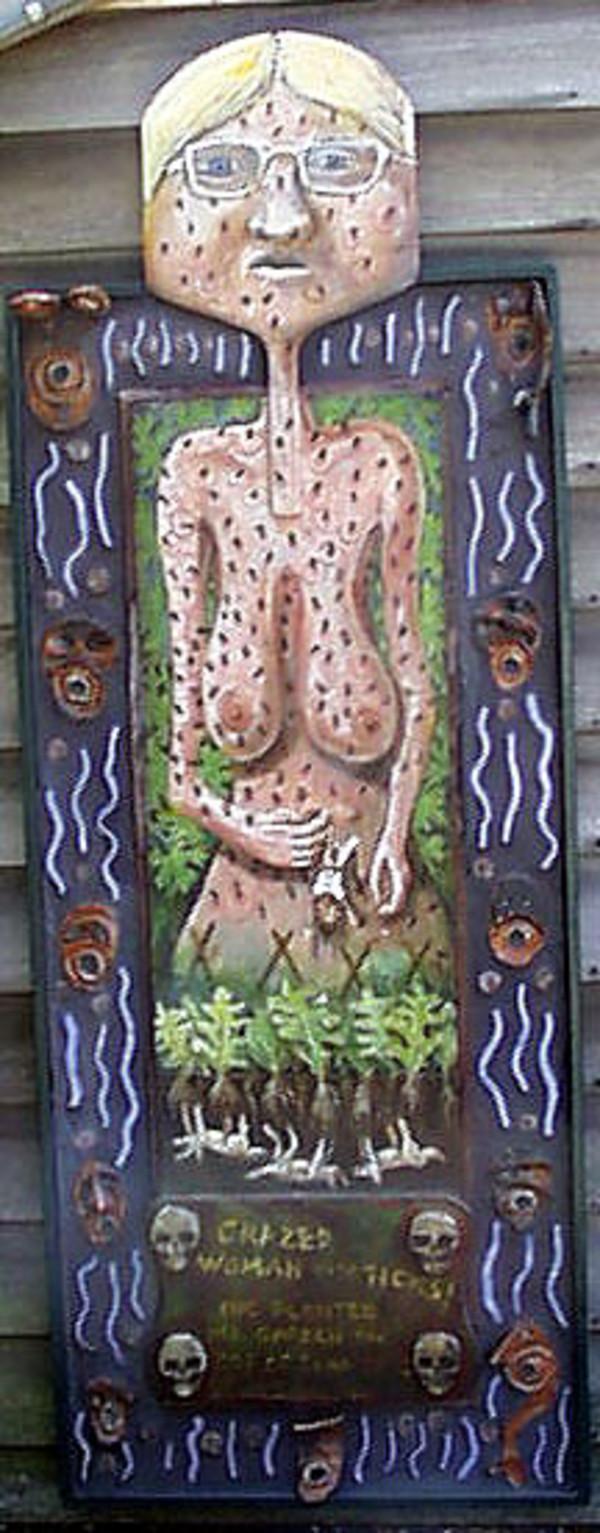 Lady with Ticks by Alan Powell