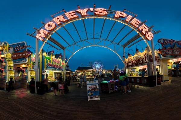 Morey's Pier Gateway by Alan Powell