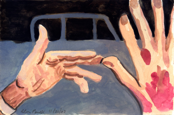 November 21, 2007; Dad's Hands by Alan Powell