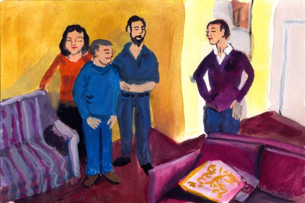 November 27, 2007; Family Room by Alan Powell
