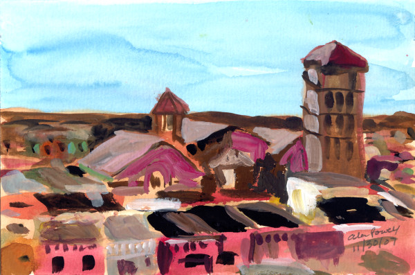 November 30, 2007; Rooftops by Alan Powell