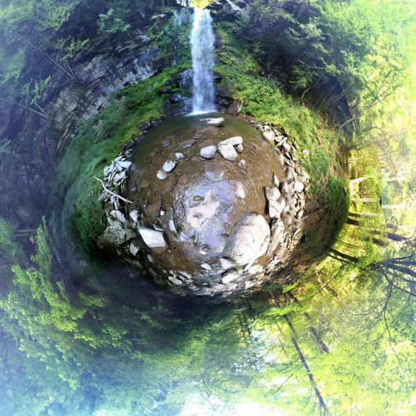 Platterkill Falls 360 by Alan Powell