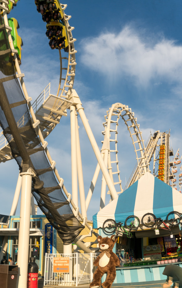 Roller Coaster by Alan Powell