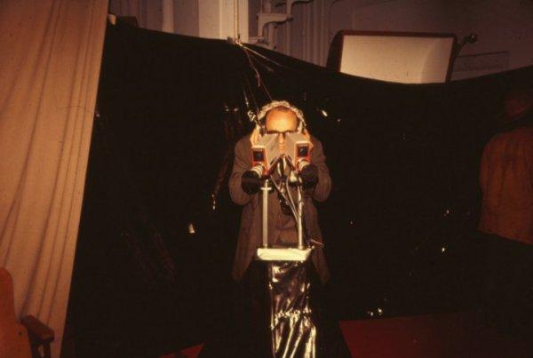 Video Maze RISD 1974, stereo piece by Alan Powell
