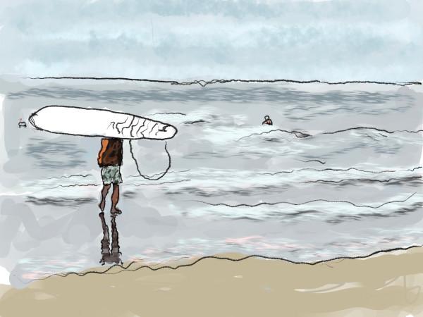 Shore Core - Surfer Dude by Alan Powell