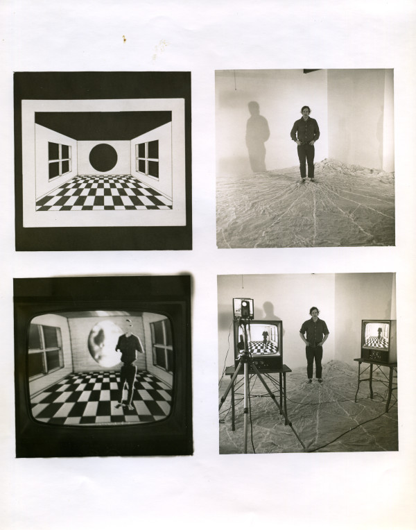 Composite for video room Everson Museum of Art 1975 by Alan Powell
