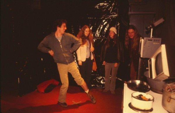 Video Maze RISD 1974 by Alan Powell