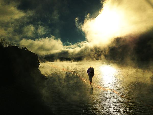 Walking Towards Heaven by Alan Powell