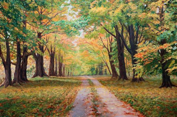Country Lane by Bonnie Mason