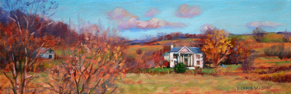 Old Homeplace by Bonnie Mason