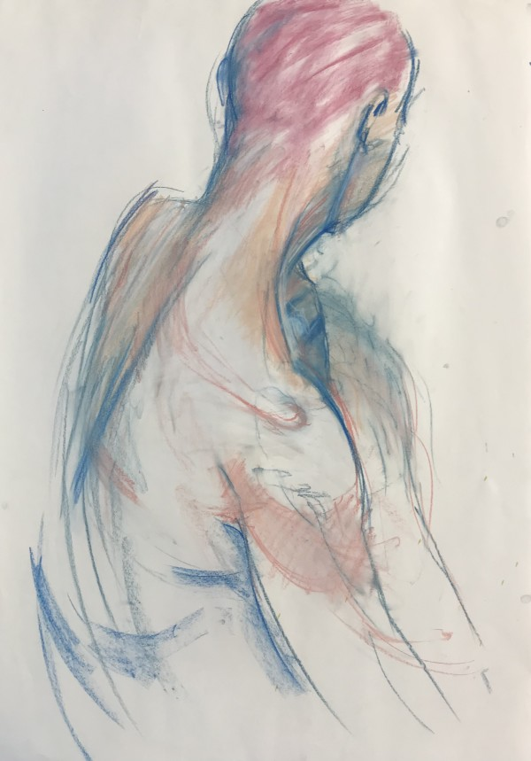 Life Drawing by Liz Foster