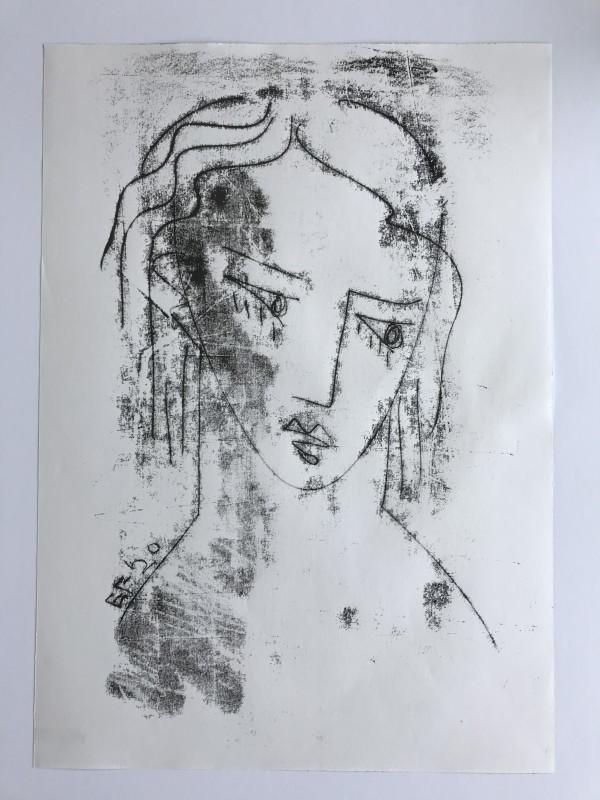 Female Head by Liz Foster