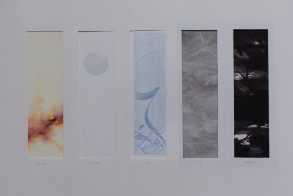 Sky Aglow/The Moon/Emerges/Dusk/Deepens by Brenna O'Toole