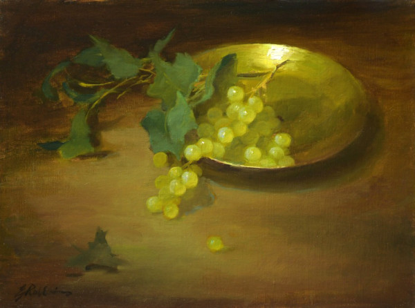 Grapes and Brass by Elizabeth Robbins