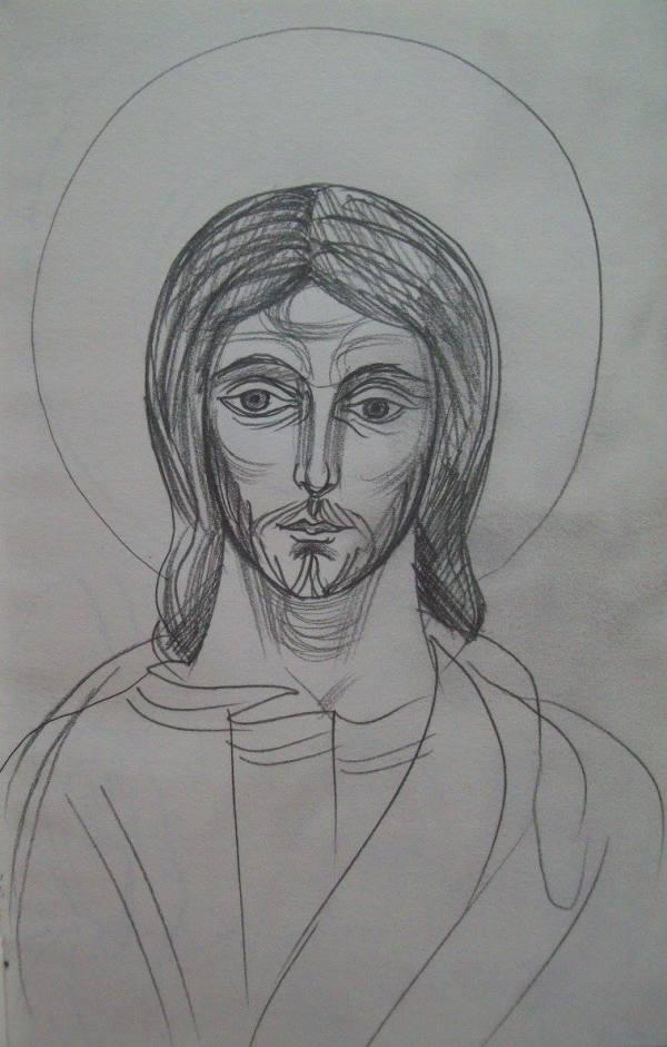 8 - Jesus Christ by Gallina Todorova