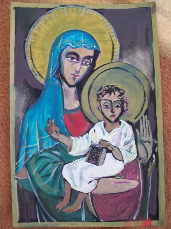 Holy Mother of God - 1995 by Gallina Todorova