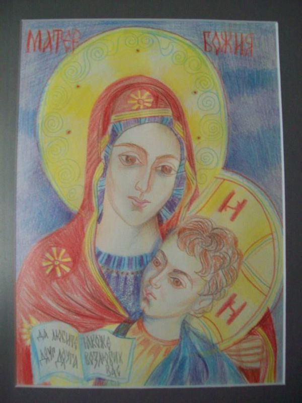 Holy Mother of God  - from the hospital by Gallina Todorova