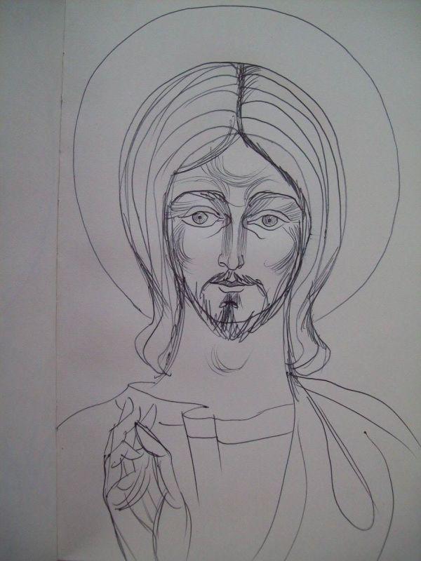 10 - Jesus Christ by Gallina Todorova